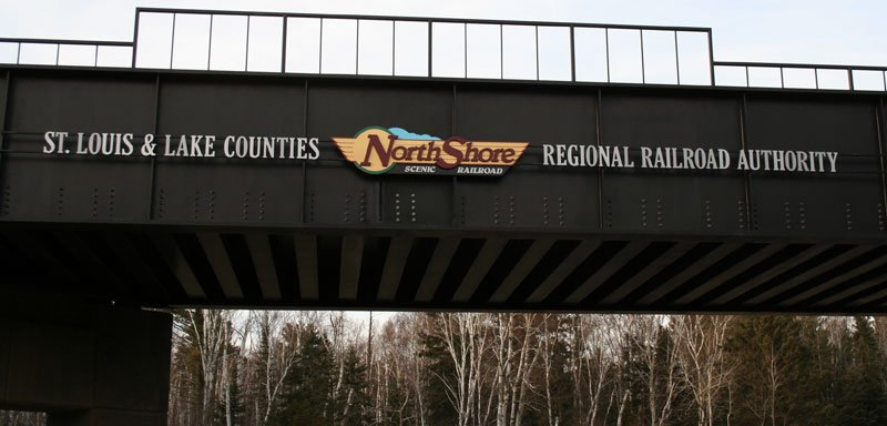 North Shore Scenic Railroad Bridge 19A