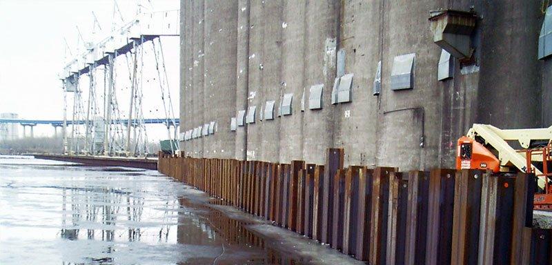 Cenex Harvest States Grain Elevator Dock Rehabilitation