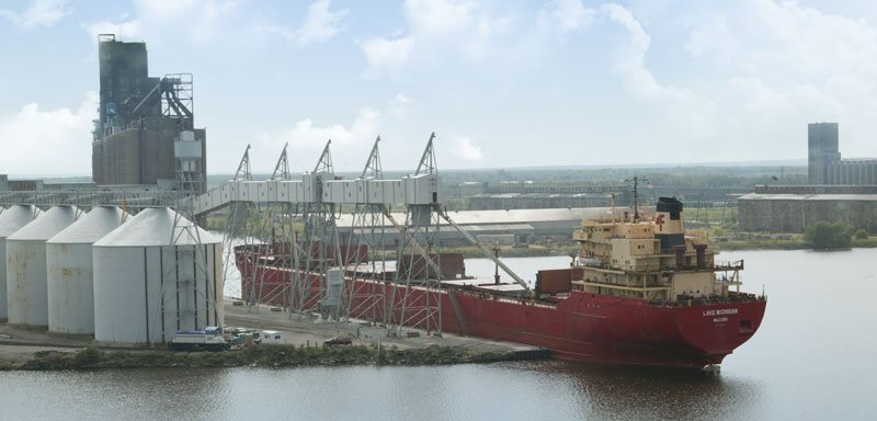 Cenex Harvest States Grain Elevator Dock Rehabilitation