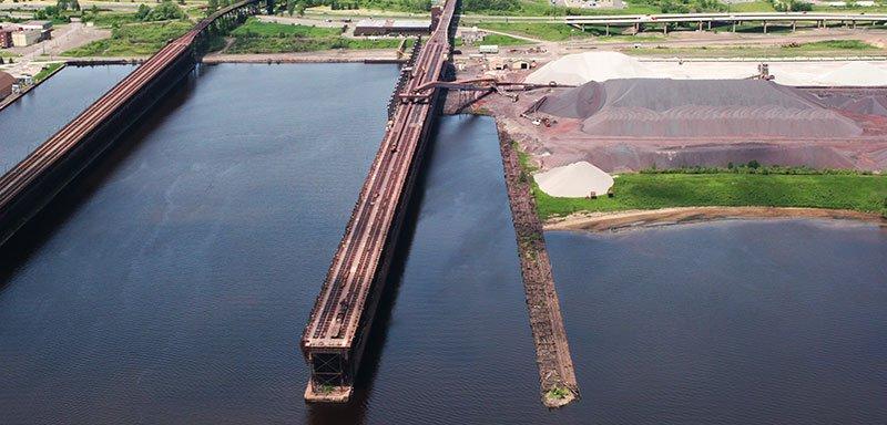 CN Ore Docks