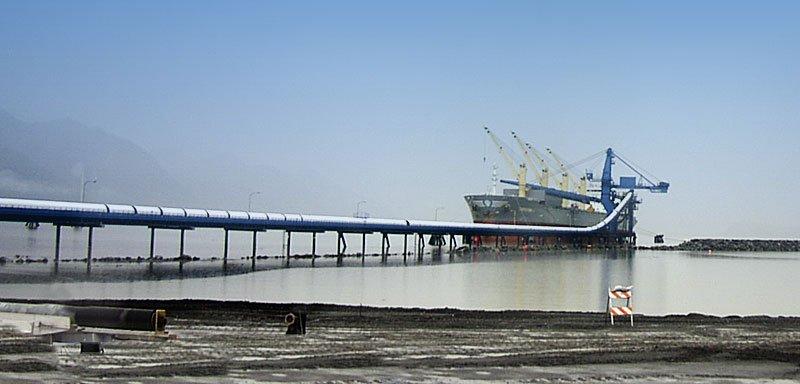 Seward Storage Facility, transshipment