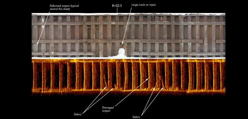 underwater sector scan example
