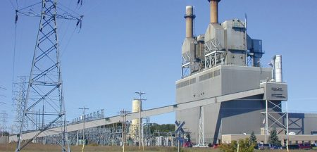 energy generating station