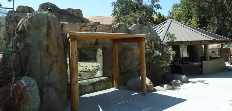 Calm Zoo title image - big cat exhibit California Living Museum