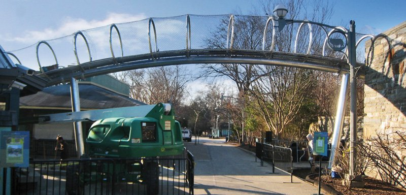 Philadelphia Zoo Animal Exploration Trails-under construction