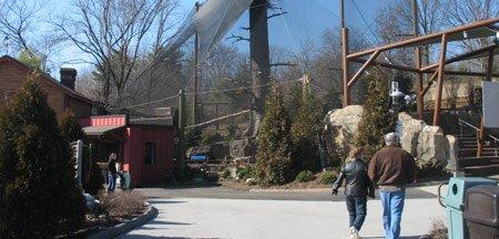 Louisville Zoo Sea Eagle Aviary - Project title image